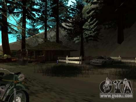 Winter v1 for GTA San Andreas ninth screenshot