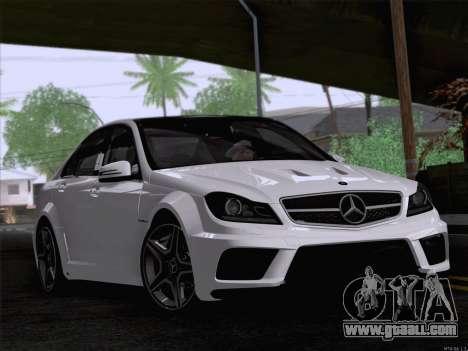Mercedes-Benz C 63 AMG for GTA San Andreas