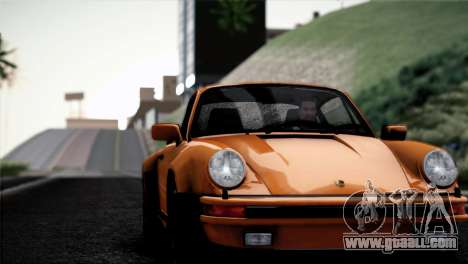 Porsche 911 Turbo 3.3 Coupe 1982 for GTA San Andreas inner view