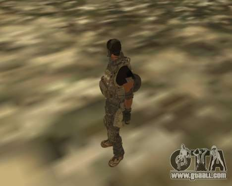 Griggs for GTA San Andreas