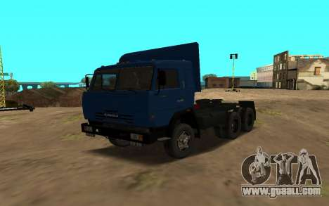 KAMAZ 54115 for GTA San Andreas side view