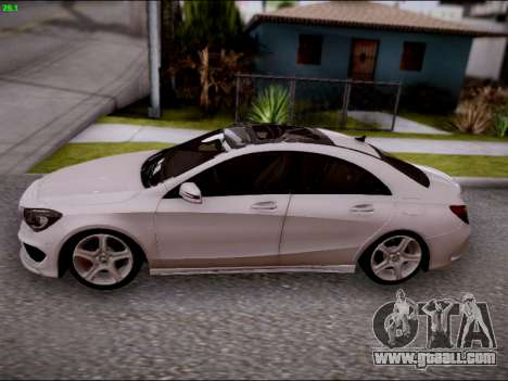 Mercedes-Benz CLA 250 for GTA San Andreas inner view