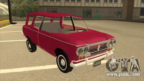 Fiat 1500 Familiar for GTA San Andreas left view