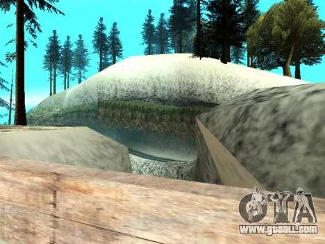 Winter v1 for GTA San Andreas twelth screenshot