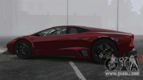 Lamborghini Reventon Body Kit Final for GTA 4 left view