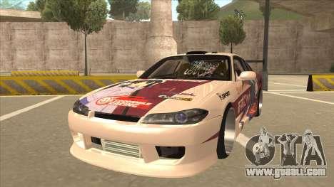 S15 K-ON Itasha for GTA San Andreas
