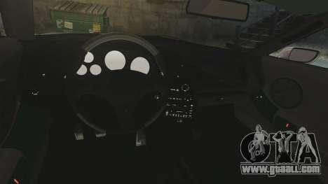 Toyota Supra for GTA 4 inner view