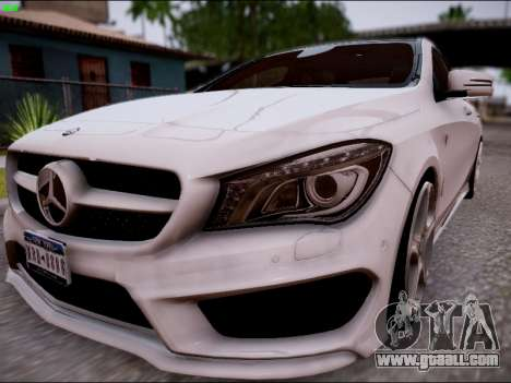 Mercedes-Benz CLA 250 for GTA San Andreas back left view