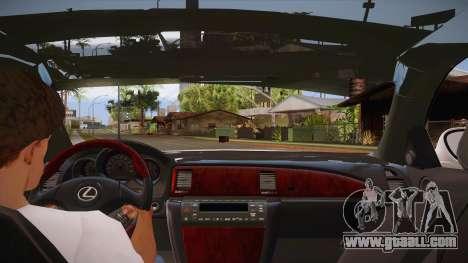 Lexus SC430 2JZ-GTE Black Revel for GTA San Andreas engine