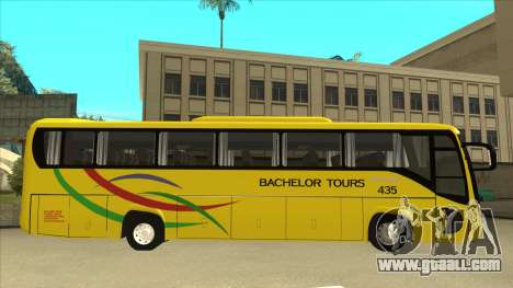 Kinglong XMQ6126Y - Bachelor Tours 435 for GTA San Andreas back left view