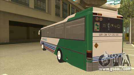 Setra S 315 GT for GTA San Andreas back view