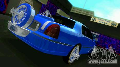 Lincoln Town Car Tuning for GTA Vice City right view