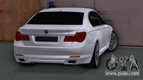 BMW 750i FSB for GTA San Andreas back left view