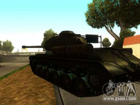 The is-2 for GTA San Andreas right view