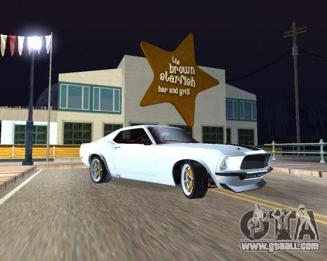 Ford Mustang Anvil for GTA San Andreas