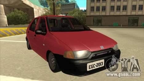 1997 Fiat Palio EDX Edit for GTA San Andreas left view