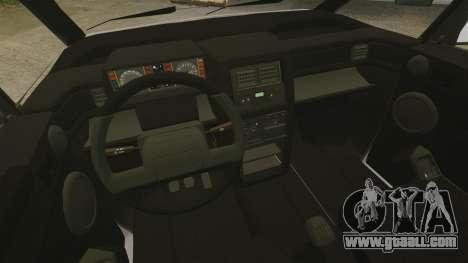 Renault Espace I 2000 TSE for GTA 4 inner view