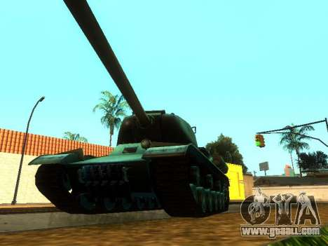 The is-2 for GTA San Andreas back view