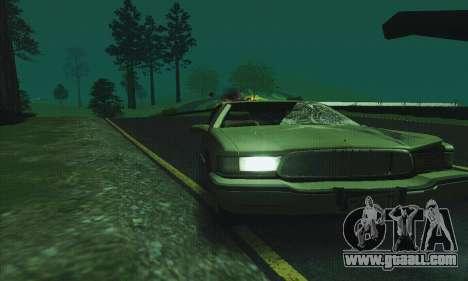Buick Roadmaster Broken for GTA San Andreas side view