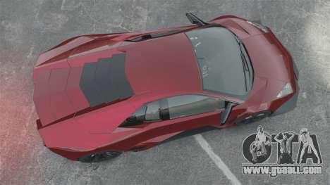 Lamborghini Reventon Body Kit Final for GTA 4 right view