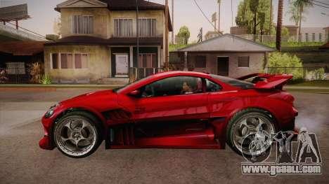 CYBORX CD 10.1s XL-SE Custom for GTA San Andreas left view