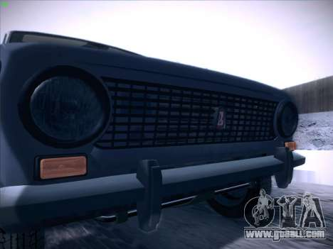 VAZ 2101 for GTA San Andreas interior