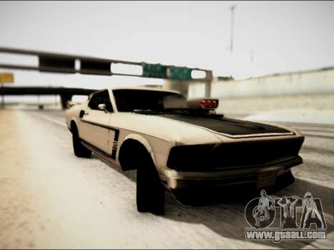 Ford Mustang Boss 302 1969 for GTA San Andreas left view
