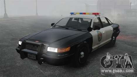 A Police Cruiser GTA V for GTA 4