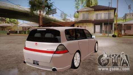Honda Odyssey v1.5 for GTA San Andreas right view