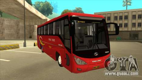 KINGLONG XMQ6126Y - Rural Tours 2780 for GTA San Andreas left view