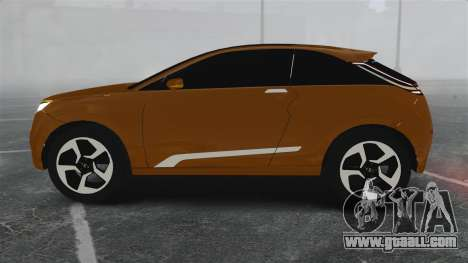 Lada XRay Concept for GTA 4 left view