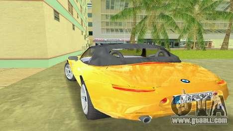 BMW Z8 for GTA Vice City engine