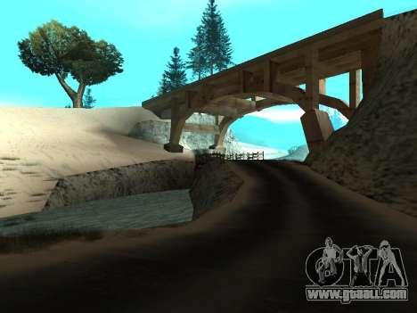 Winter v1 for GTA San Andreas second screenshot