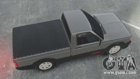 GMC Syclone 1992 for GTA 4 right view