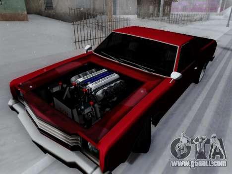 Picador V8 Picadas for GTA San Andreas back left view