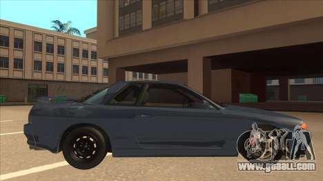 Nissan Skyline GT-S32 Drifter Edition for GTA San Andreas back left view