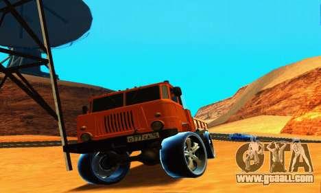GAZ 66 Caucasus for GTA San Andreas side view