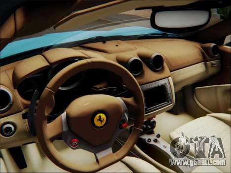 Ferrari California 2009 for GTA San Andreas engine