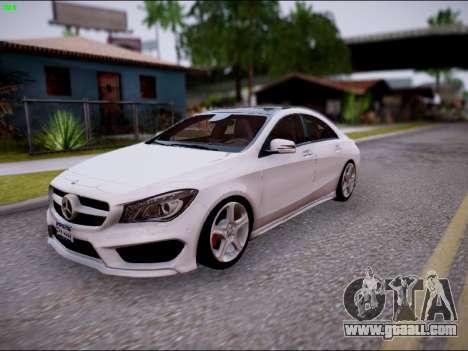 Mercedes-Benz CLA 250 for GTA San Andreas