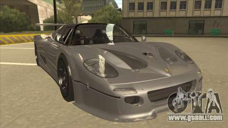 Ferrari F50 GT TT Black Revel for GTA San Andreas left view