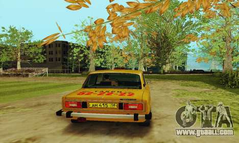 VAZ 2106 Taxi for GTA San Andreas right view