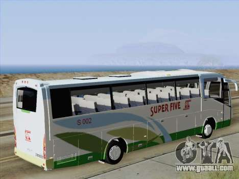 Irizar Mercedes Benz MQ2547 Super Five S 002 for GTA San Andreas inner view