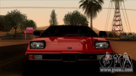 BMW M1 (E26) 1979 for GTA San Andreas back view
