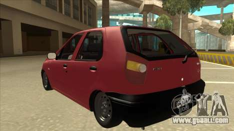 1997 Fiat Palio EDX Edit for GTA San Andreas back view