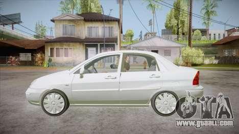Suzuki Liana 1.3 GLX 2002 for GTA San Andreas left view