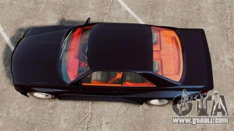 Mercedes-Benz C126 500SEC for GTA 4 right view
