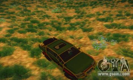 Uaz Patriot Pickup for GTA San Andreas upper view