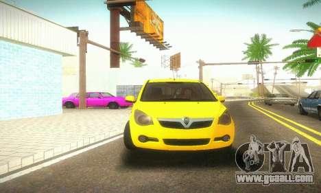 Vauxhall Agila 2011 for GTA San Andreas
