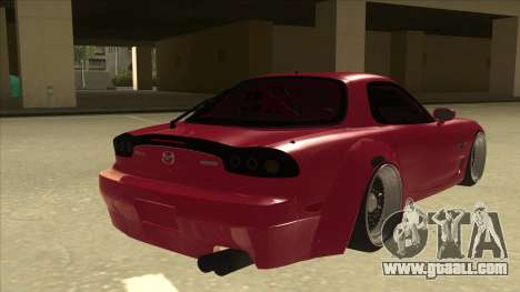 Mazda RX7 FD3S Rocket Bunny for GTA San Andreas right view