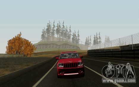 Jeep Grand Cherokee SRT10 for GTA San Andreas left view